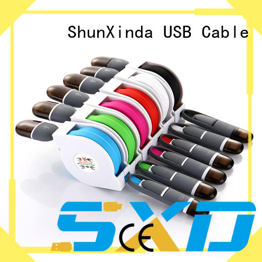 ShunXinda customized 3 in 1 charging cable wholesale for car
