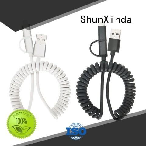 phone retractable ShunXinda Brand retractable charging cable factory