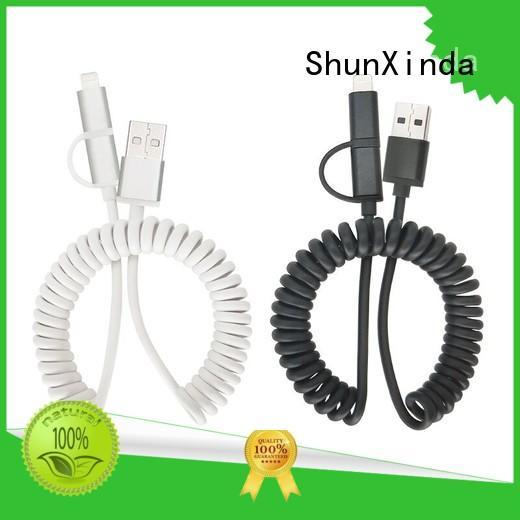 ShunXinda gift usb charging cable factory for car
