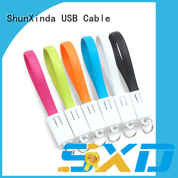 ShunXinda fast multi phone charging cable supplier for car