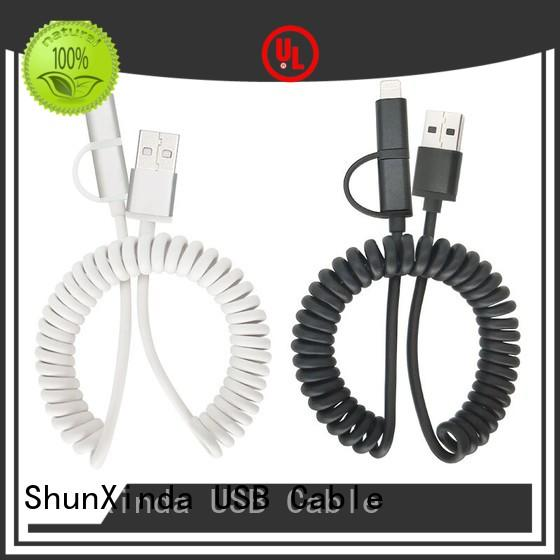 Custom long multi charger cable mobile ShunXinda