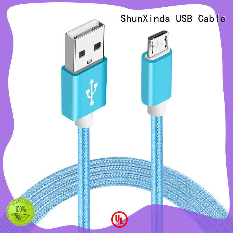 ShunXinda New micro usb charging cable suppliers for indoor