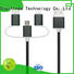 retractable keychain coiled multi charger cable ShunXinda Brand