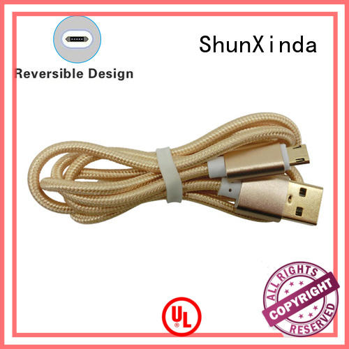 ShunXinda leather micro usb charging cable for business for indoor