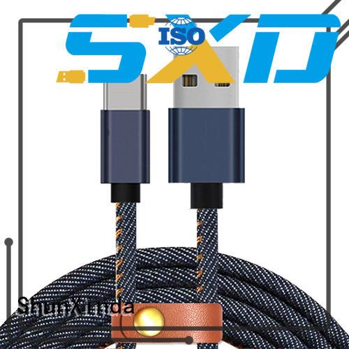 ShunXinda diamond cable usb c company for indoor