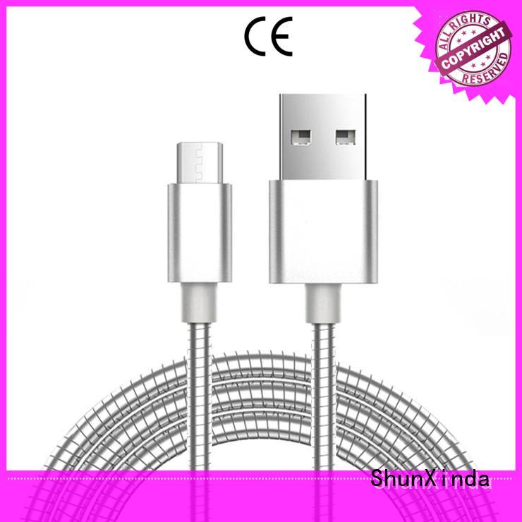 ShunXinda Brand design long micro usb cable samsung supplier