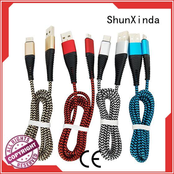 pin led iphone usb cable oem iphone mobile ShunXinda Brand