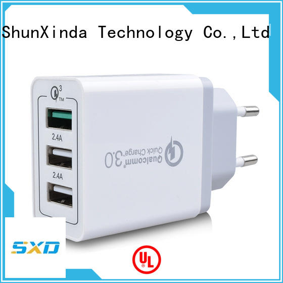 ShunXinda Brand adapter power usb fast charger uk factory