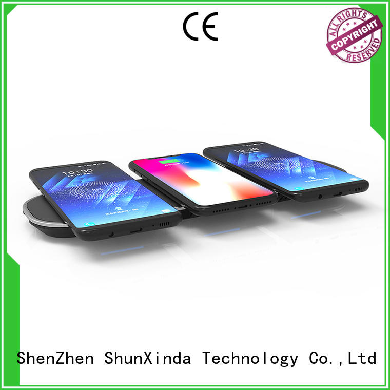 customized smartphone wireless charging car supply for car