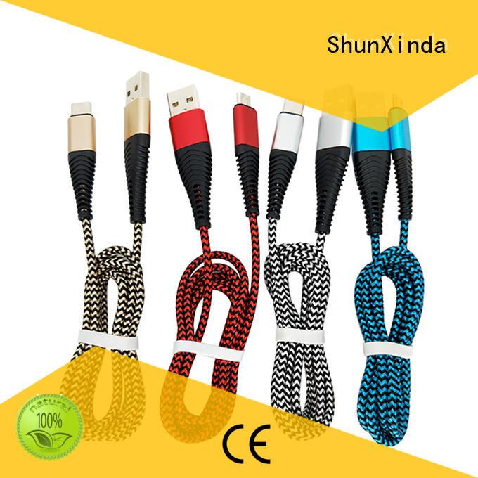 ShunXinda Brand pin iphone cord visible factory