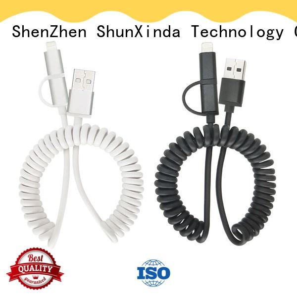 ShunXinda customized multi charger cable factory for indoor