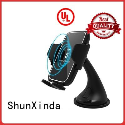 Newest design wireless car charger 10W mobile holder wireless charger SXD305