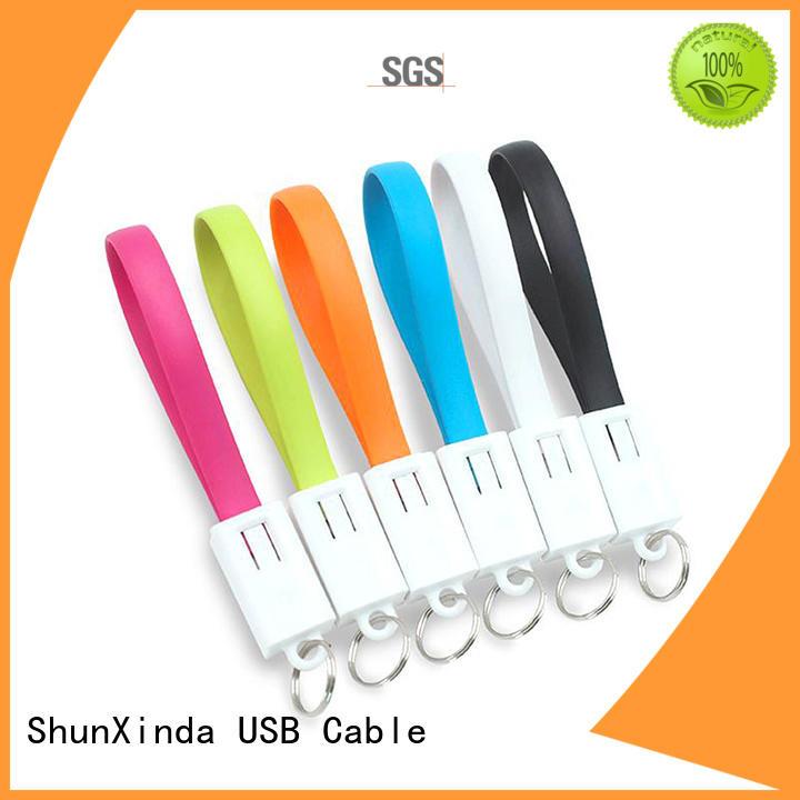 gift cloth samsung multi charger cable nylon ShunXinda Brand