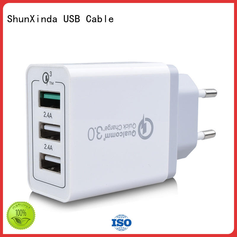 Quality ShunXinda Brand usb wall charger power us