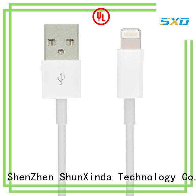 ShunXinda Brand charging newest mobile custom iphone usb cable oem