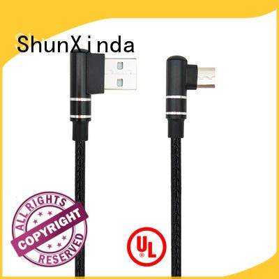 braided short usb to micro usb cable mobile home ShunXinda