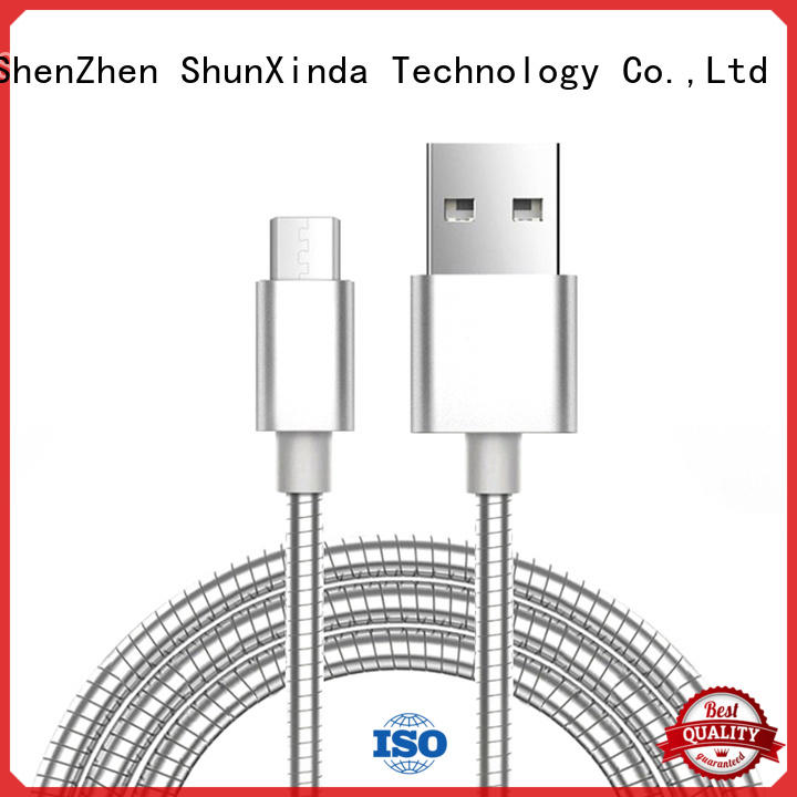 ShunXinda fast best micro usb charging cable sync for home