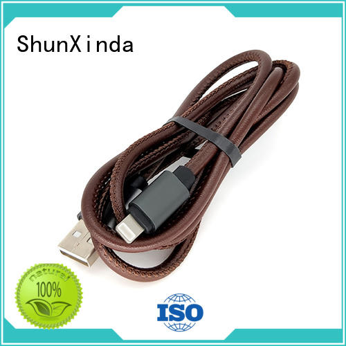 ShunXinda Latest lightning usb cable factory for home