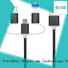 Hot popular 3 in 1 nylon braided cable charging sync data micro usb cable SXD132