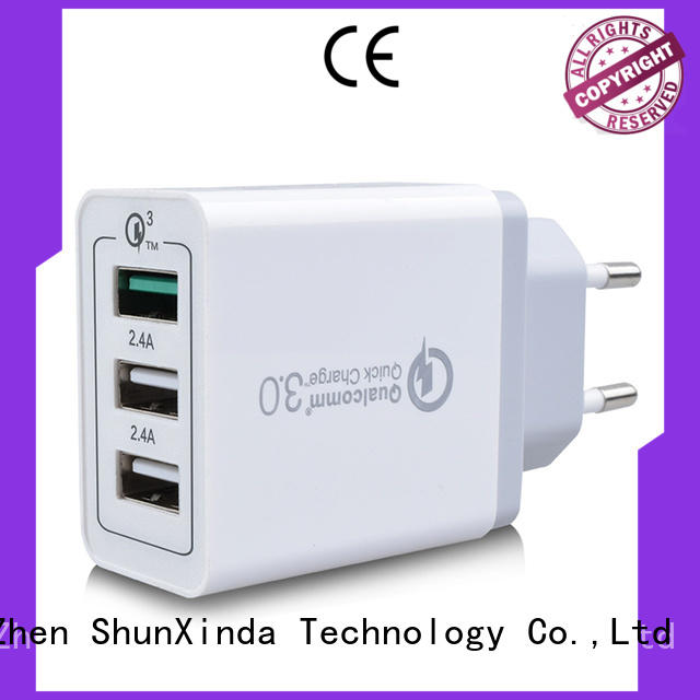 Custom adapter usb fast charger travel ShunXinda