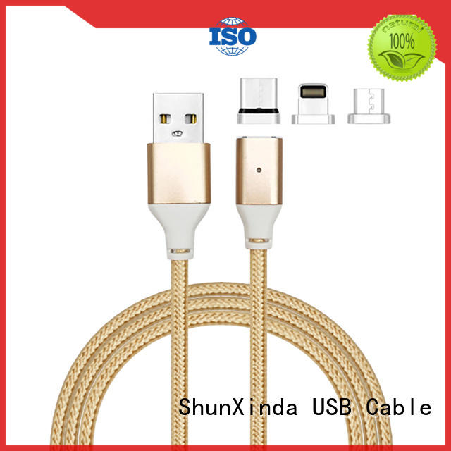 Quality ShunXinda Brand retractable charging cable long magnetic