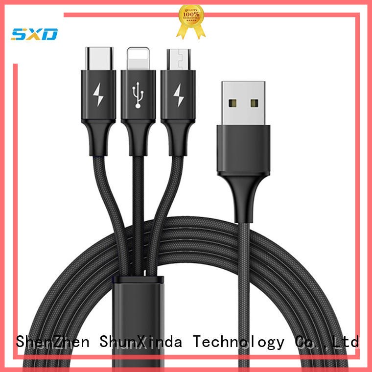 ShunXinda Best usb cable with multiple ends company for car