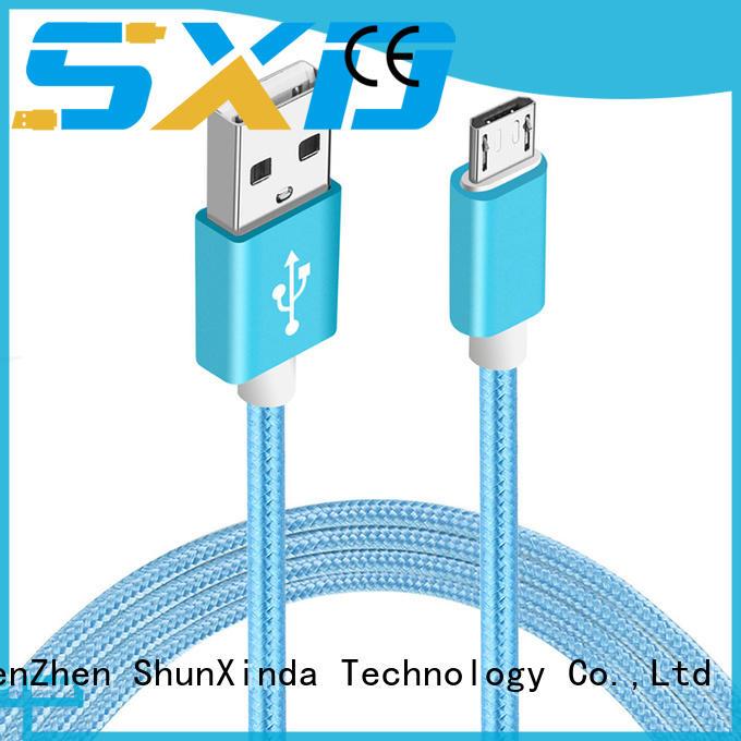 Quality ShunXinda Brand usb fast durable usb to micro usb