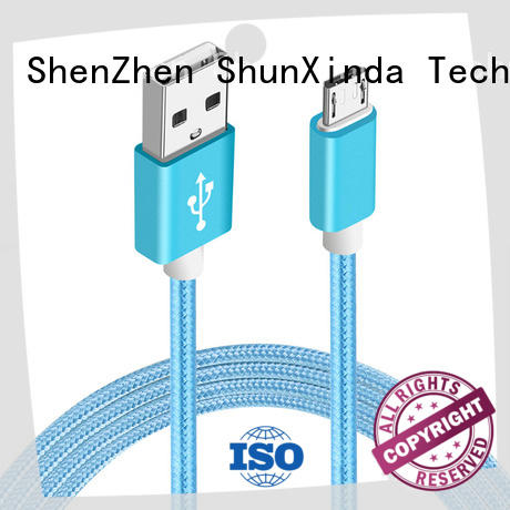 ShunXinda customized cable micro usb supply for indoor
