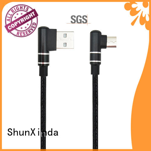 ShunXinda fast cable usb micro usb manufacturers for indoor