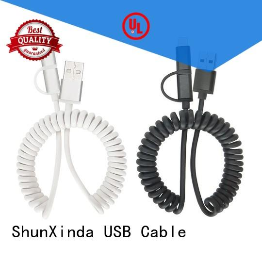 ShunXinda Custom usb charging cable manufacturers for indoor