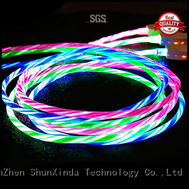 Custom braided iphone cord arrival ShunXinda