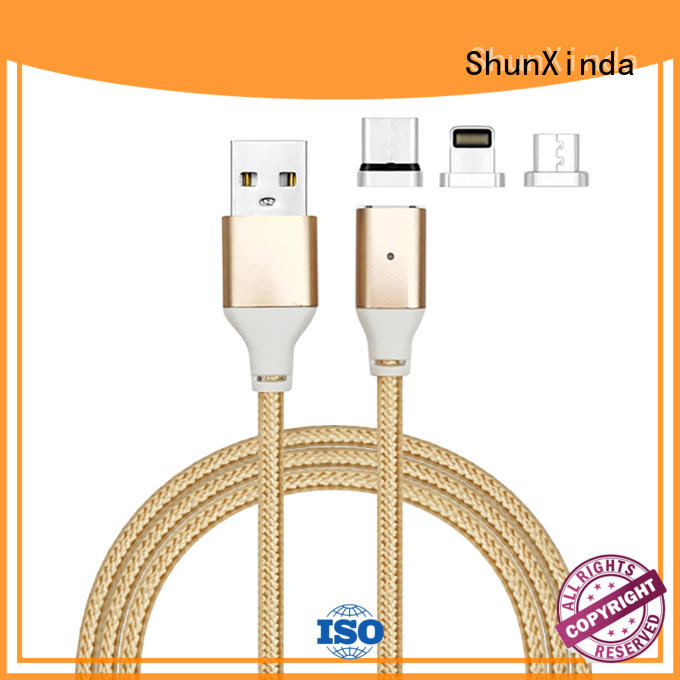ShunXinda Brand durable retractable charging cable fast supplier