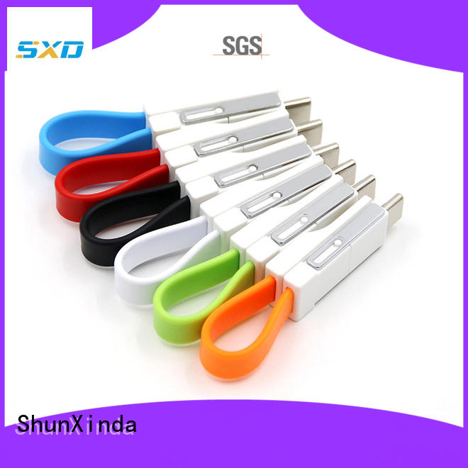 ShunXinda nylon multi device charging cable for business for home