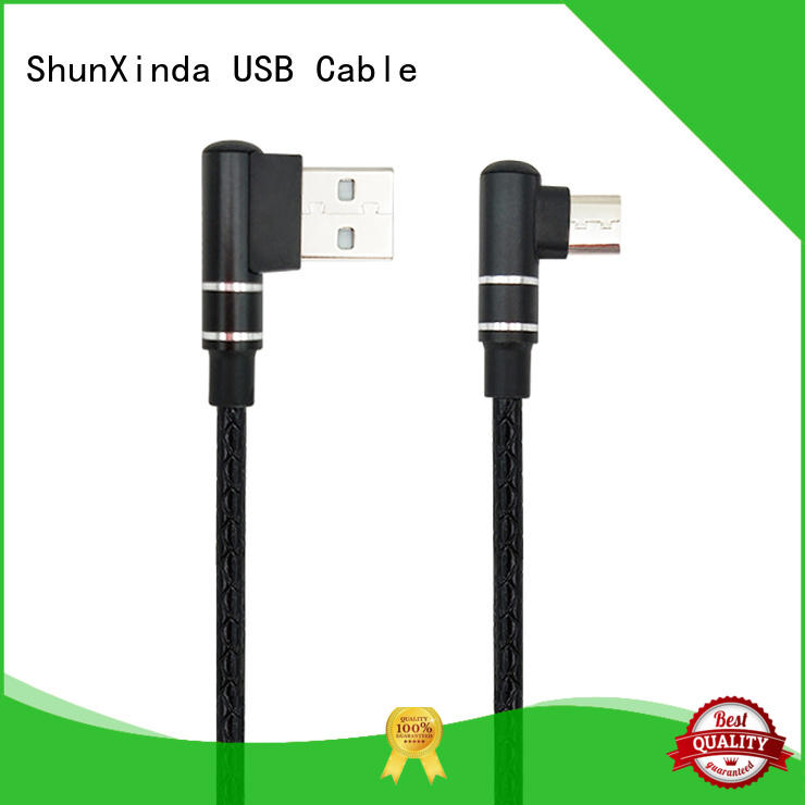 ShunXinda data cable micro usb factory for indoor