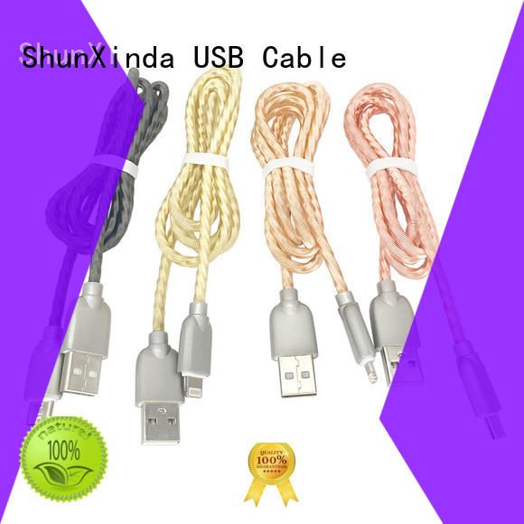 ShunXinda visible iphone charger cord factory for indoor