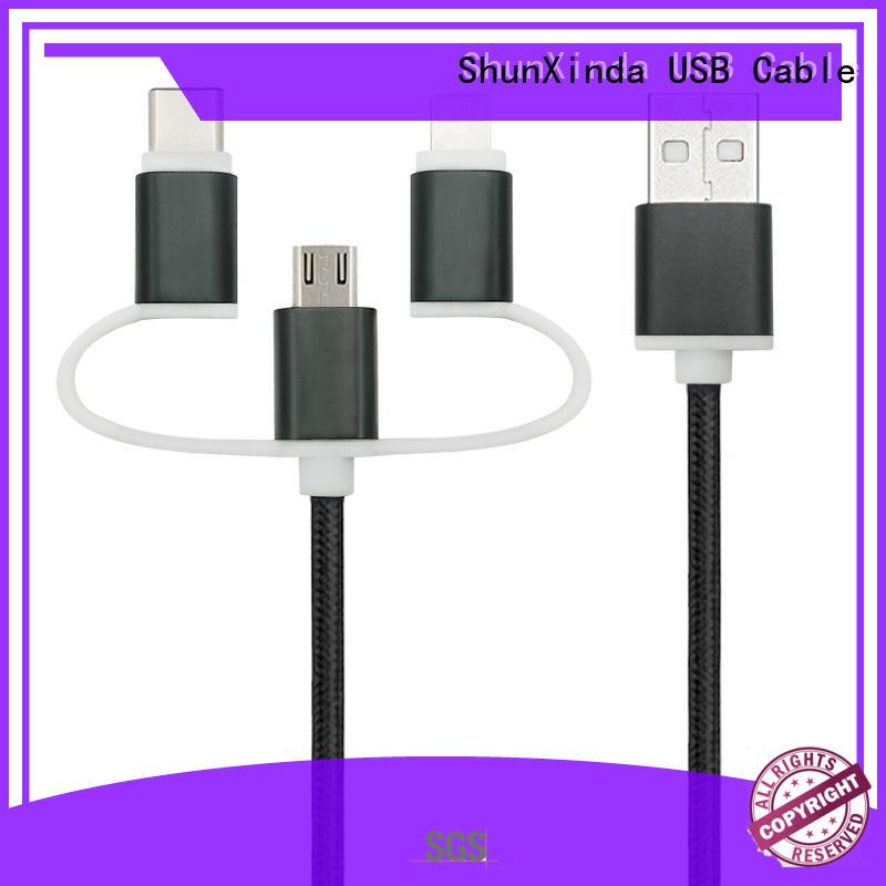 phone multi charger cable retractable ShunXinda company