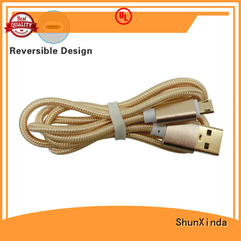 Quality ShunXinda Brand long micro usb cable stand