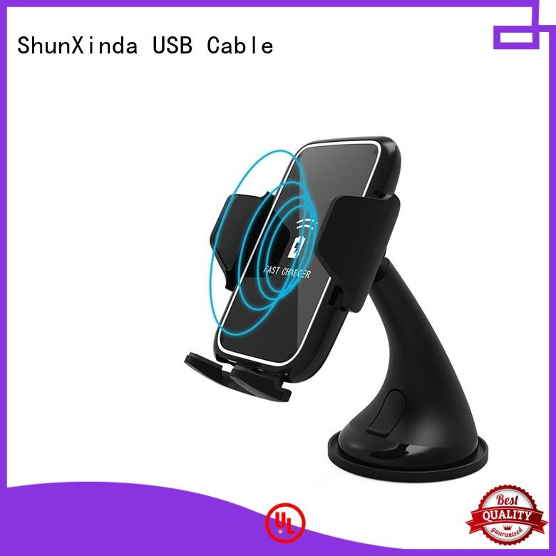 ShunXinda dual wireless mobile charger company for car