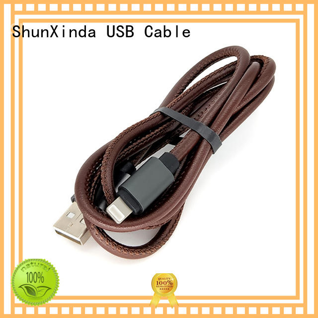 ShunXinda online apple lightning to usb cable company for car