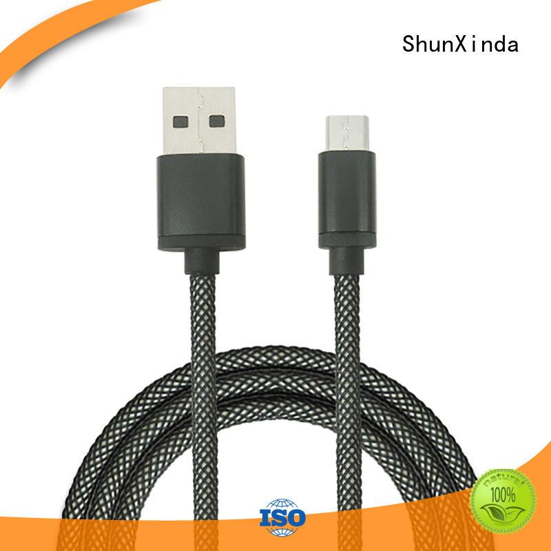 durable usb fast iphone long micro usb cable ShunXinda manufacture