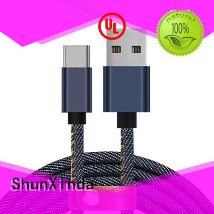 alloy data type c usb cable ShunXinda manufacture