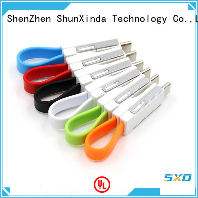 durable phone keychain multi charger cable ShunXinda
