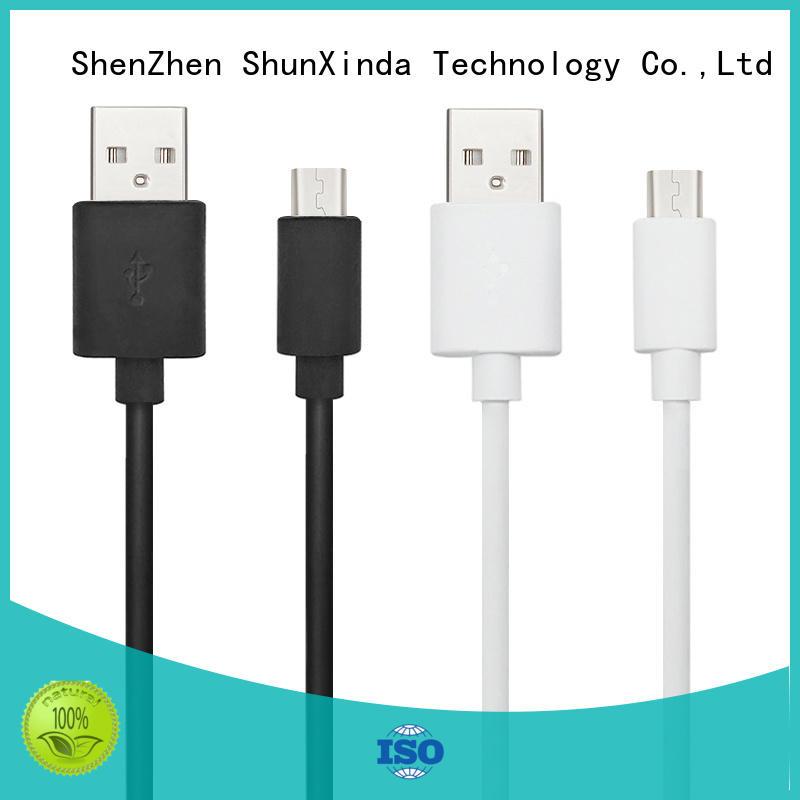 Hot design long micro usb cable fabric ShunXinda Brand