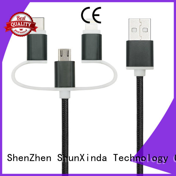 ShunXinda high quality usb multi charger cable for business for indoor