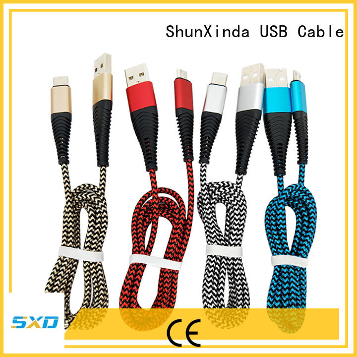 apple iphone charger cable leather station ShunXinda