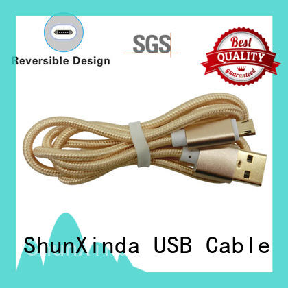 ShunXinda customized micro usb charging cable supply for indoor