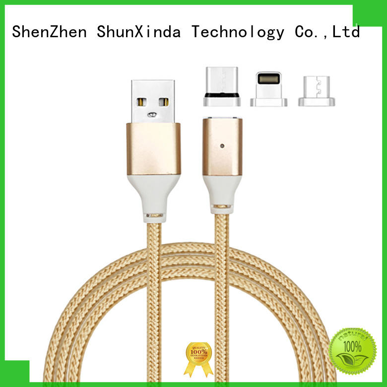 retractable charging cable coiled keychain phone Warranty ShunXinda