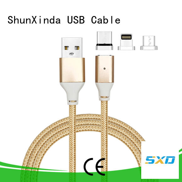 ShunXinda Brand charging data long retractable charging cable