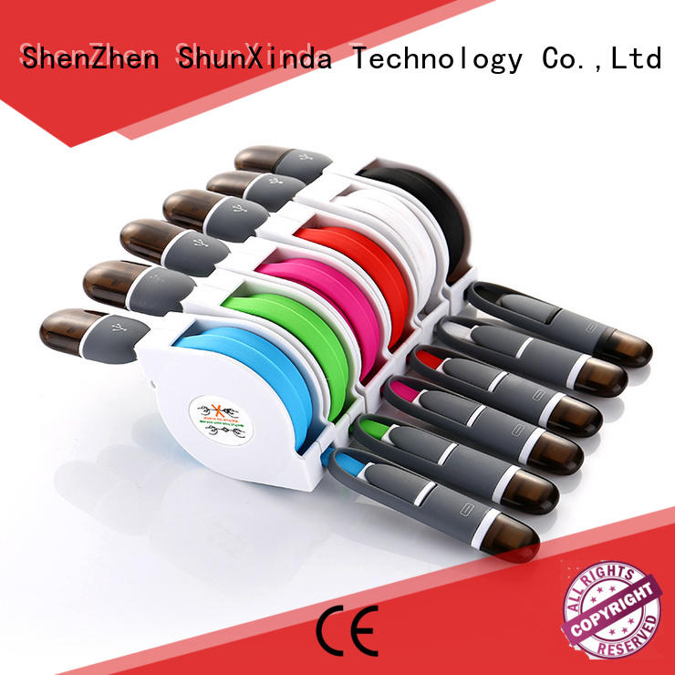Hot multi charger cable cloth ShunXinda Brand