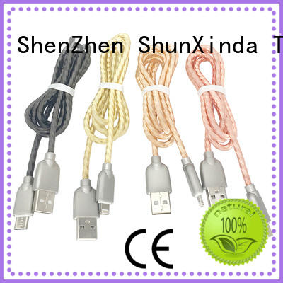 ShunXinda customized apple lightning to usb cable series for indoor